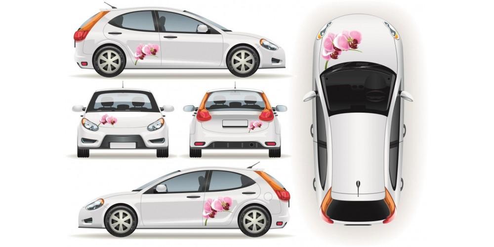 Orchideás autómatrica szett