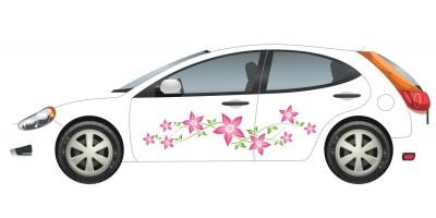 Autómatrica, virágos, sok virágos, leveles