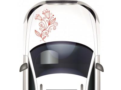 Tulipán motívumos autómatrica, több színben
