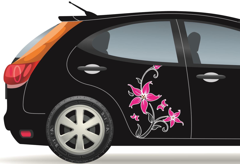 feltűnő autódekoráció